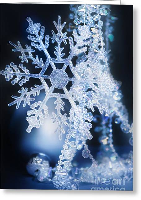 Twinkle Greeting Cards - Christmas Ornaments Greeting Card by HD Connelly
