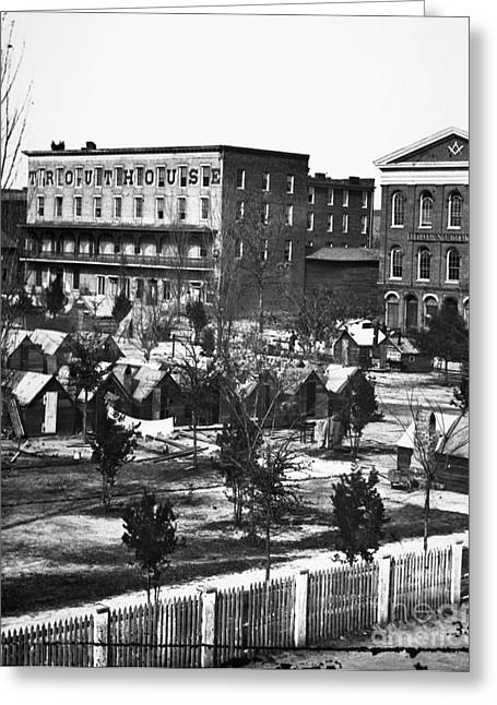 Trout Photograph Greeting Cards - Civil War: Atlanta, 1864 Greeting Card by Granger