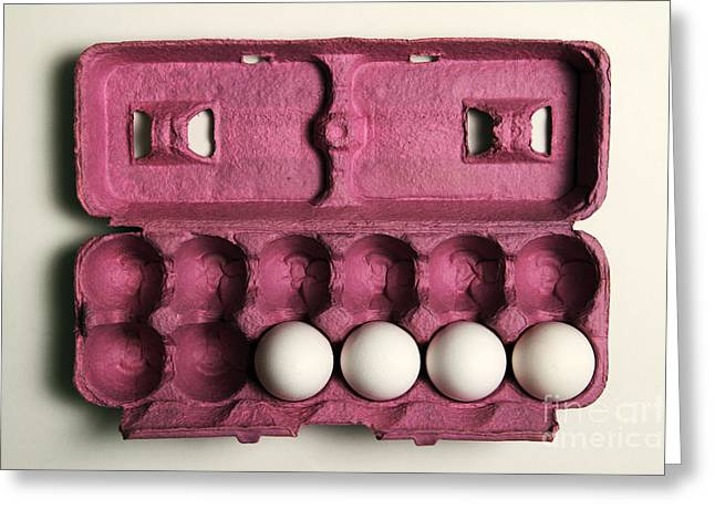 Problem Greeting Cards - 4 Eggs Greeting Card by Photo Researchers, Inc.