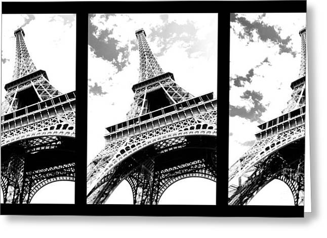 Print Photographs Greeting Cards - Eiffel tower Greeting Card by Elena Elisseeva