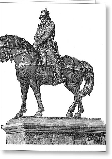 Frederick I (1123?-1190) Greeting Card by Granger