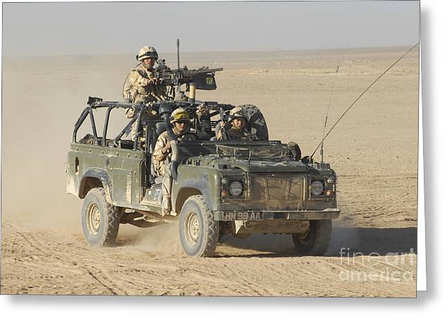 Brigade Greeting Cards - Gurkhas Patrol Afghanistan In A Land Greeting Card by Andrew Chittock