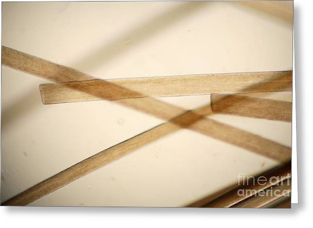 Light Magnifications Greeting Cards - Human Hair Greeting Card by Ted Kinsman