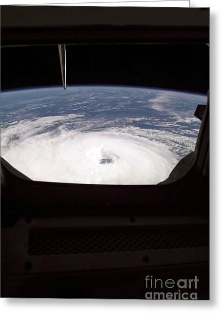 Atlantis Greeting Cards - Hurricane Gordon Greeting Card by Stocktrek Images