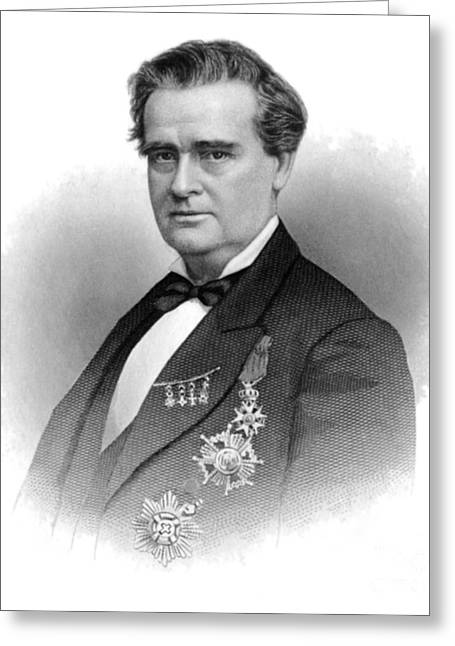 Doctor J Greeting Cards - J. Marion Sims, Father Of American Greeting Card by Science Source