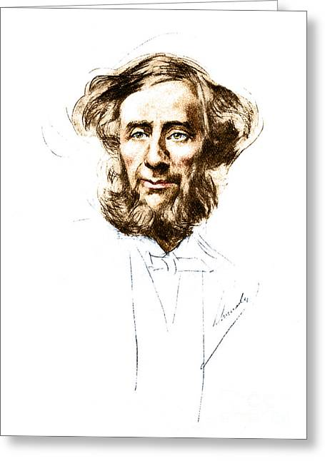 Overdose Greeting Cards - John Tyndall, Irish Physicist Greeting Card by Science Source