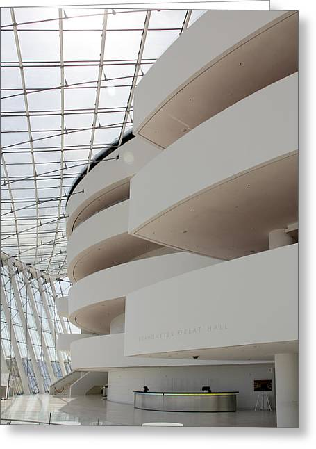 Kauffman Center For Performing Arts Greeting Card by Mike McGlothlen