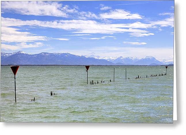 Lake Constance Greeting Card by Joana Kruse