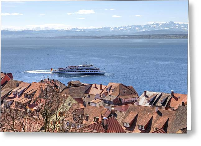 Prospects Greeting Cards - Lake Constance Meersburg Greeting Card by Joana Kruse