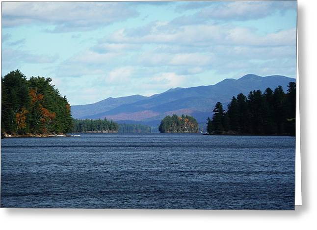 Self Discovery Photographs Greeting Cards - Lake Greeting Card by Kate  Leikin