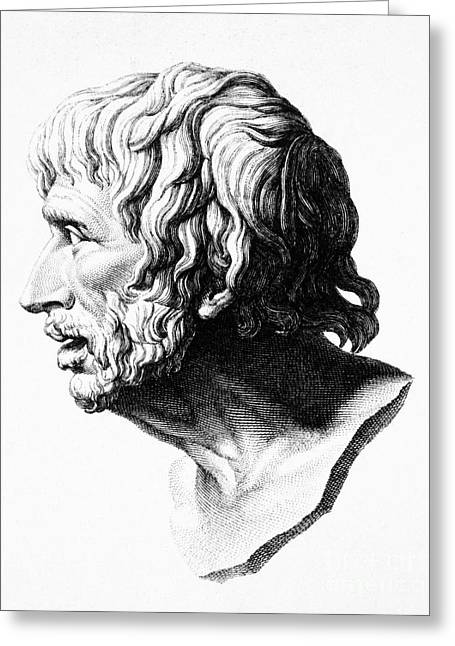 1st Century B.c. Greeting Cards - Lucius Annaeus Seneca Greeting Card by Granger