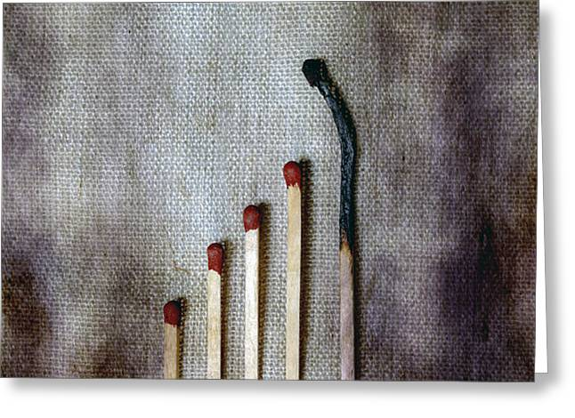 matches Greeting Card by Joana Kruse
