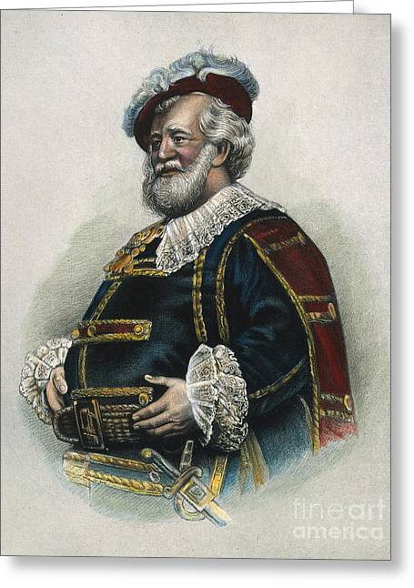 Falstaff Greeting Cards - Merry Wives Of Windsor Greeting Card by Granger