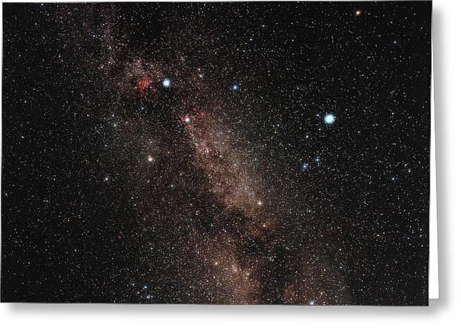 Deneb Greeting Cards - Milky Way Greeting Card by Eckhard Slawik