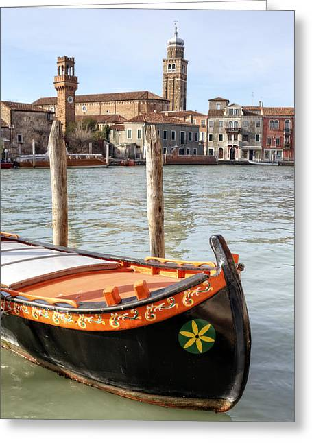 Martire Greeting Cards - Murano Greeting Card by Joana Kruse
