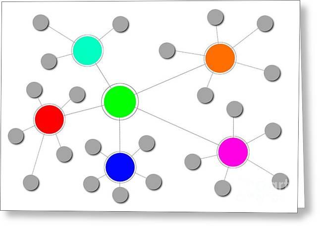 Network Greeting Card by Henrik Lehnerer
