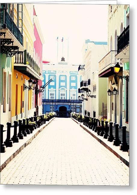 Old San Juan Greeting Cards - Old San Juan Puerto Rico Greeting Card by Kim Fearheiley