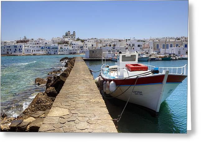 Cyclades Greeting Cards - Paros - Cyclades - Greece Greeting Card by Joana Kruse