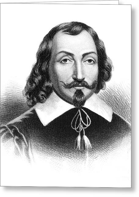 Champlain Greeting Cards - Samuel De Champlain Greeting Card by Granger