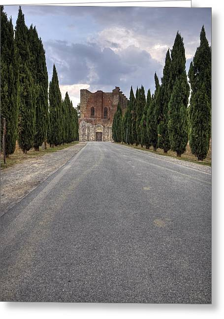 San Galgano Greeting Card by Joana Kruse