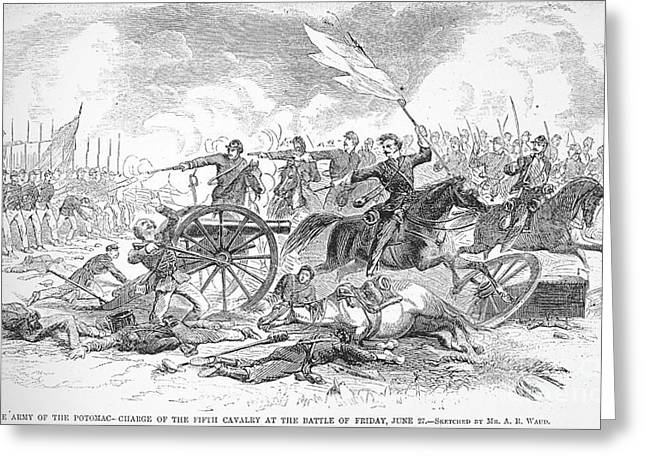 Seven Days Greeting Cards - Seven Days Battles, 1862 Greeting Card by Granger