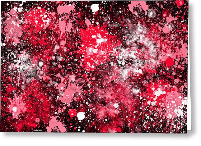 Splatter Greeting Card by Stephen Younts