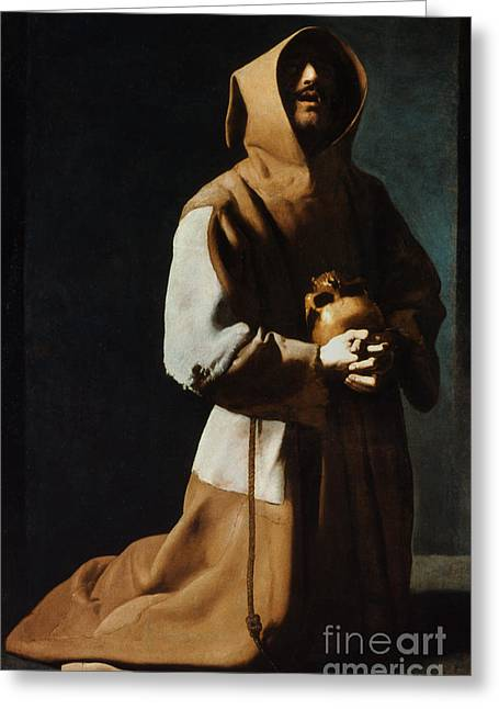 12th Greeting Cards - St Francis Of Assisi Greeting Card by Granger