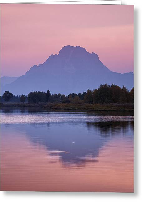 Wyoming Photography Greeting Cards - Teton Reflections Greeting Card by Andrew Soundarajan