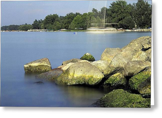 Best Sellers -  - Sweating Photographs Greeting Cards - The port Greeting Card by Odon Czintos