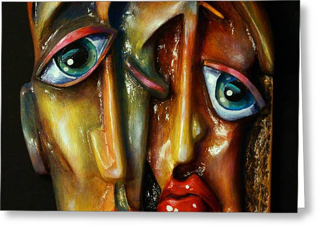 'Together' Greeting Card by Michael Lang