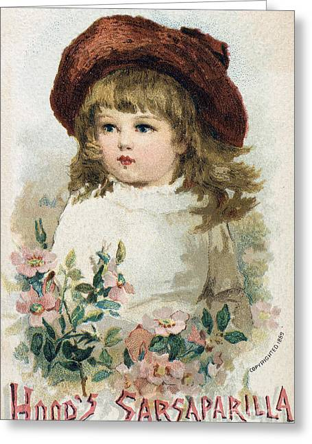Trade Card Greeting Cards - TRADE CARD, c1880 Greeting Card by Granger