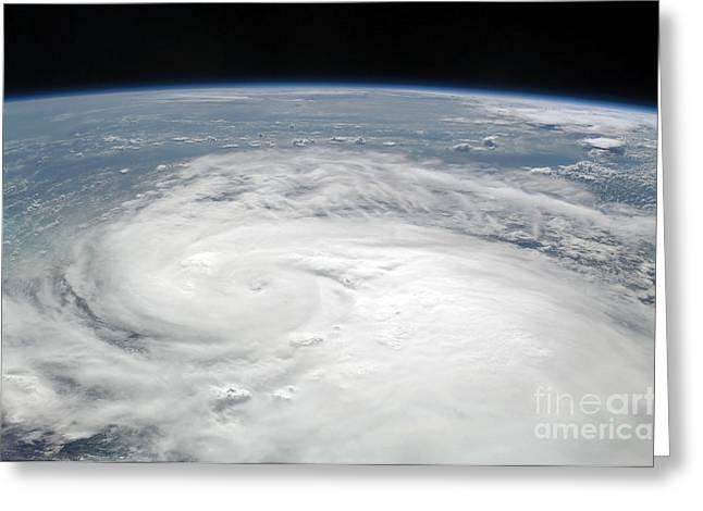 Atlantic Ocean.disaster Greeting Cards - Tropical Storm Fay Greeting Card by Stocktrek Images
