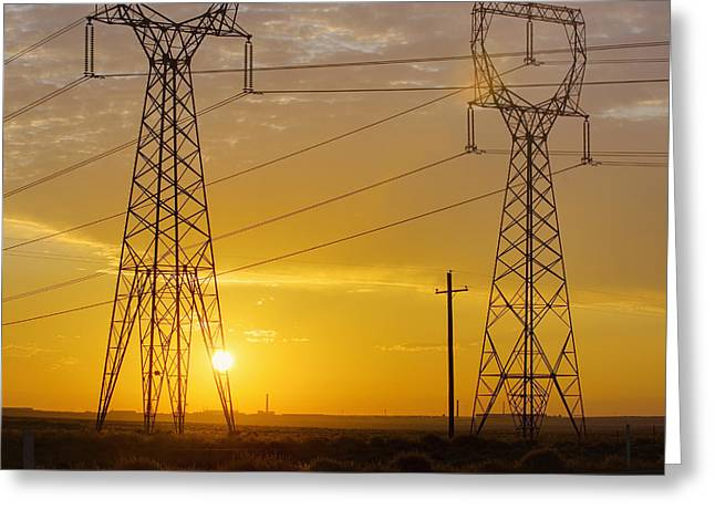 Electrical Equipment Greeting Cards - Untitled Greeting Card by Alan Majchrowicz
