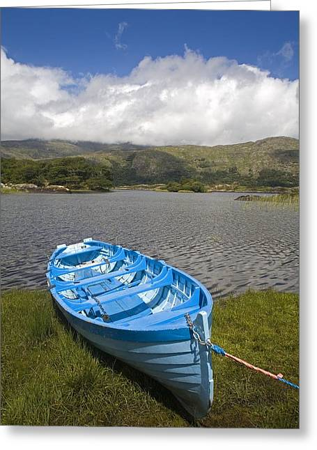 Isi Greeting Cards - Upper Lake, Killarney National Park Greeting Card by Richard Cummins