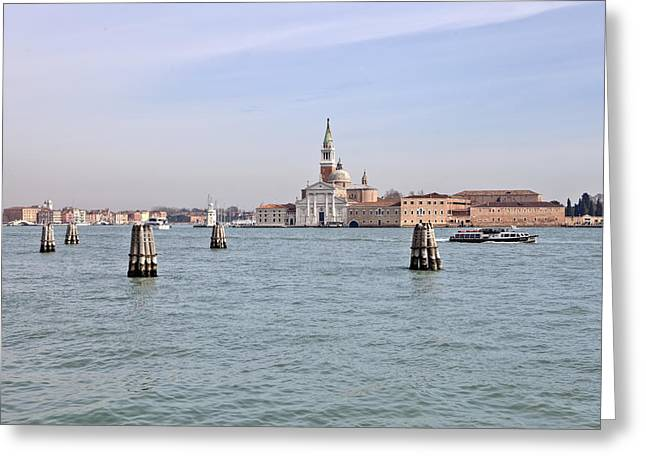 San Marcos Greeting Cards - Venice Greeting Card by Joana Kruse