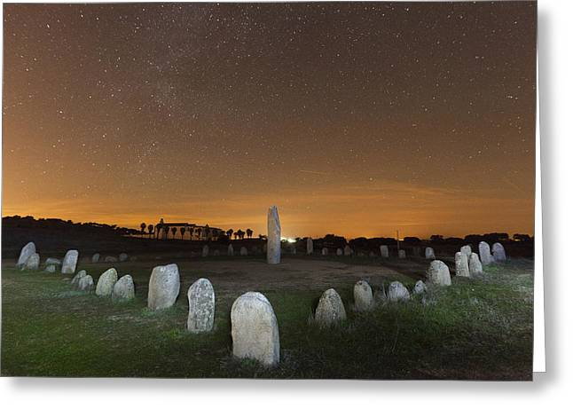 Xarez Cromlech Greeting Card by Andre Goncalves