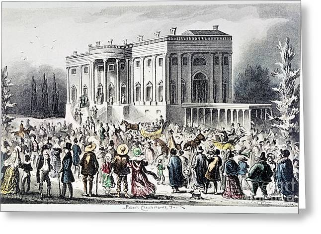 Inauguration Greeting Cards - Andrew Jackson (1767-1845) Greeting Card by Granger