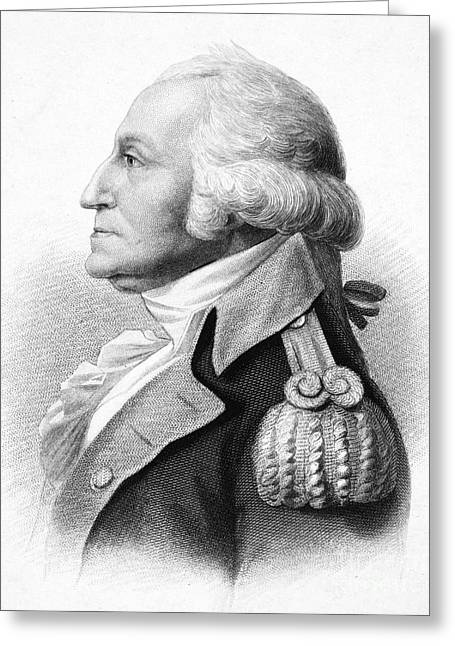 Saint-julien Greeting Cards - George Washington Greeting Card by Granger