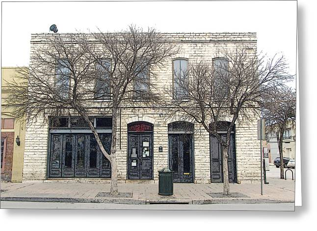 422 E 6th St Austin Texas Greeting Card by James Granberry
