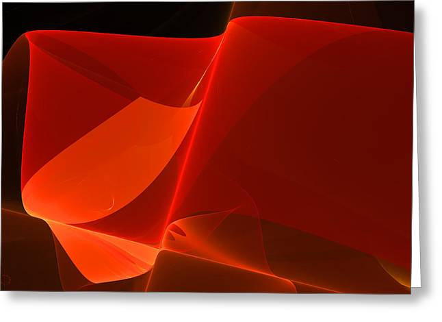 Generative Abstract Greeting Cards - 424 Greeting Card by Lar Matre