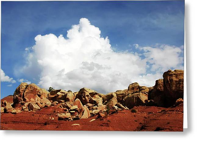 Southern Utah Pyrography Greeting Cards - Capitol Reef National Park Greeting Card by Southern Utah  Photography