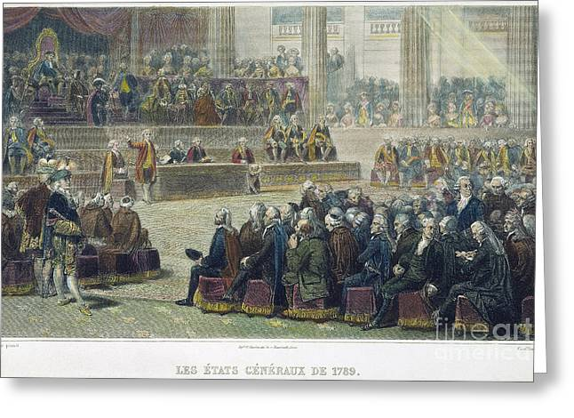 Third Estate Greeting Cards - French Revolution, 1789 Greeting Card by Granger