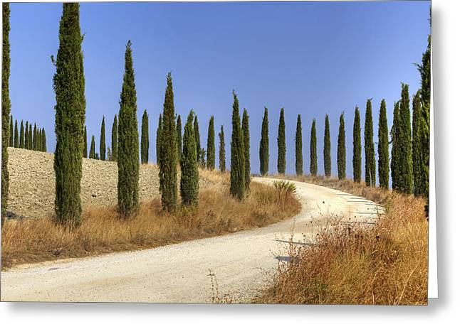 Soft Colored Greeting Cards - Tuscany Greeting Card by Joana Kruse