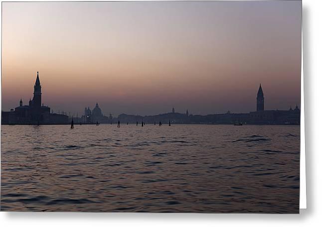 Campanile Di San Marco Greeting Cards - Venezia Greeting Card by Joana Kruse