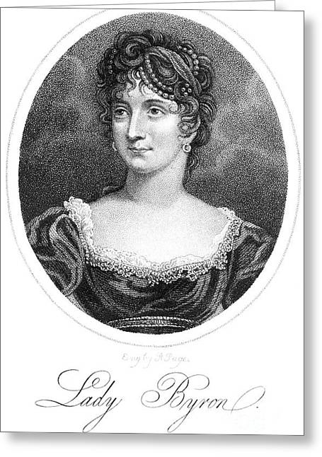 Decolletage Greeting Cards - Anne Isabella Byron Greeting Card by Granger