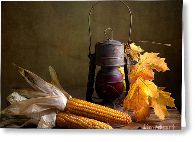 Food And Beverage Greeting Cards - Autumn Greeting Card by Nailia Schwarz