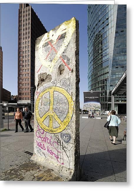Grafity Greeting Cards - Berlin Greeting Card by Igor Sinitsyn