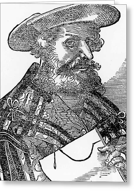 Citizens Greeting Cards - Claudius Ptolemy, Greek-roman Polymath Greeting Card by Science Source