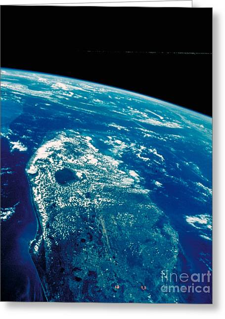 Planet Earth Greeting Cards - Earth Greeting Card by Nasa