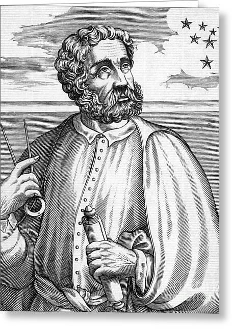 Ferdinand Magellan, Portuguese Explorer Greeting Card by Photo Researchers, Inc.